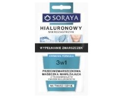 Hyaluronic Micro-Injection 3v1 maska proti gubam 2 x 5 ml
