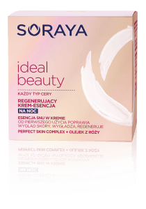Ideal Beauty Essence nočna krema za sijočo kožo